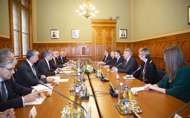 Predsjednik Skupštine Crne Gore Ivan Brajović u posjeti Mađarskoj na poziv Kovera