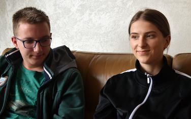 Mladi fizičari: David Pantović i Milica Sošić