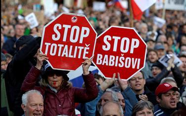 Sa protesta u Pragu