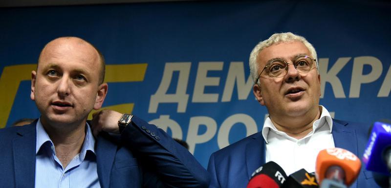 Milan Knežević i Andrija Mandić