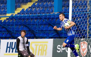 Mihailo Perović nakon gola za 1:1