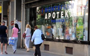 Državna apoteka u centru Podgorice