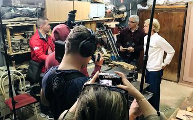 Poljski novinari kod Pipa