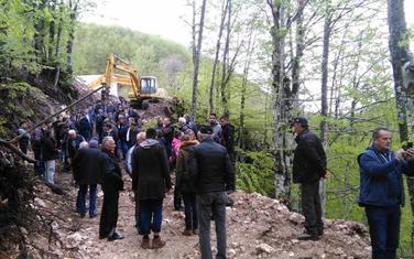 Sa protesta protiv izgradnje mHE na Bukovici 15. maja