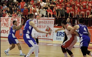 Sa večerašnje utakmice na Cetinju (Foto: Cetinjski list)