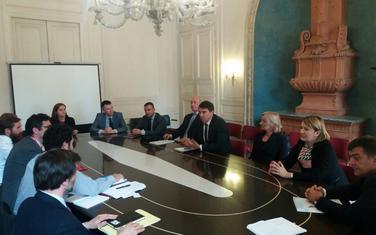 Sa jednog od sastanaka u Parizu
