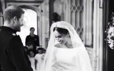 Hari i Megan na dan vjenčanja