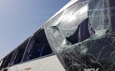 Oštećeni autobus