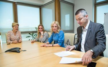 Sa potpisivanja dokumenta