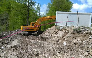 Mašina za izvođenje pripreminh radova na Bukovici