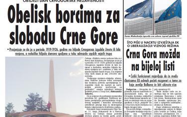"""""""Vijesti"""", 20. maj 2009."""