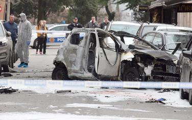 Sve su učestalije eksplozije i pucnjave u centru: Uviđaj nakon ubistva Ćupića