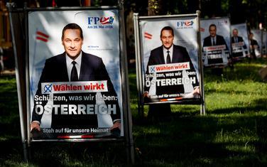 Štrahe na predizbornim plakatima u Beču