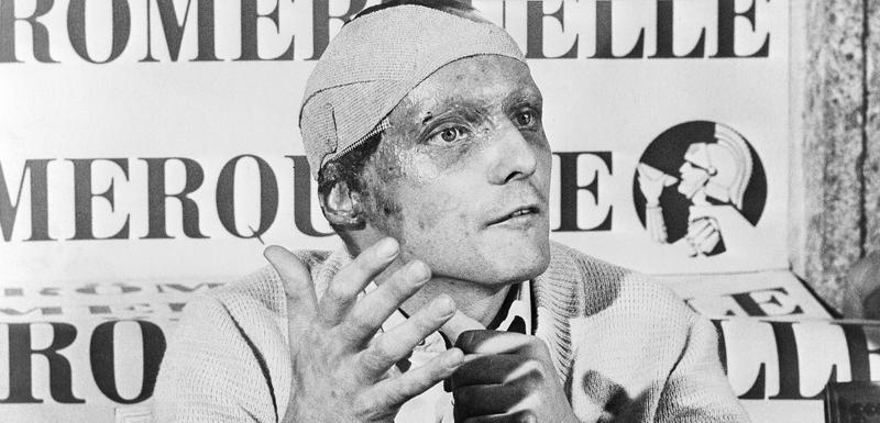 Niki Lauda na trci u Monci, prvoj nakon teških povreda u Hokenhajmu
