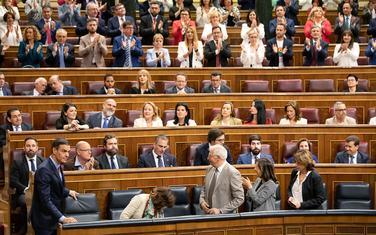 Detalj iz Parlamenta Španije
