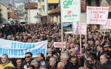 Sve veći jaz bogatih i siromašnih: Sa radničkih protesta u Bijelom Polju
