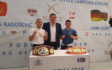 Sa prezentacije borbe Radošević - Saidi