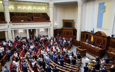 Sa sjednice ukrajinskog parlamenta