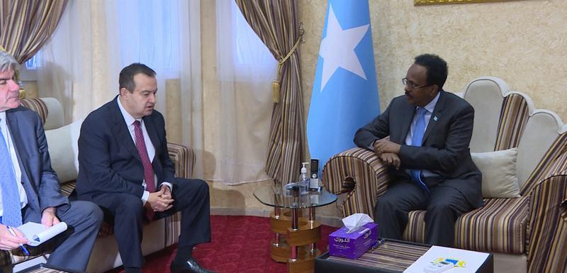 Sa sastanka Dačića i predsjednika Somalije Mohameda Abdulahija Mohameda Farmađa