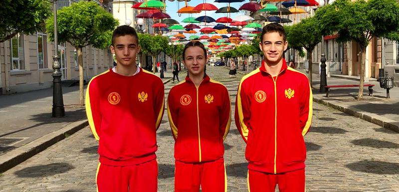 Damjan Liješević, Bojana Gojković i Nikola Radenović