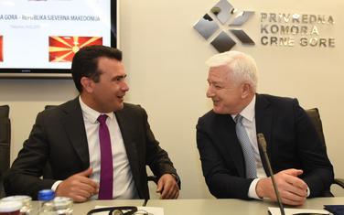 Zaev i Marković u Privrednoj komori