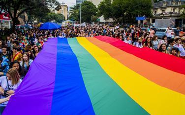 LGBT aktivisti u Sao Paulu