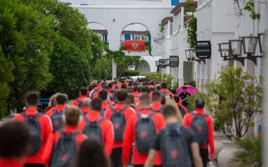 Sve spremno za početak: Sportisti u kompleksu Slovenska plaža