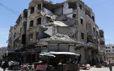 Detalj iz Idliba (Ilustracija)