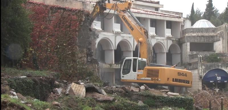 Hotel srušen krajem prošle godine: Rušenje Kraljičine plaže