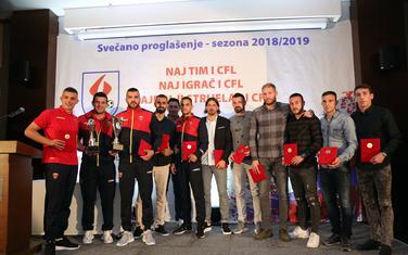 """Članovi najboljeg tima sezone na ceremoniji u hotelu """"Ramada"""""""