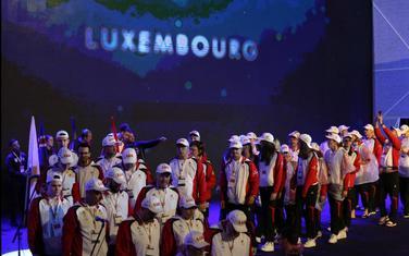 Sportisti Luksemburga (Foto: COK)