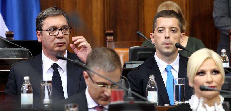 Vučić u Skupštini Srbije