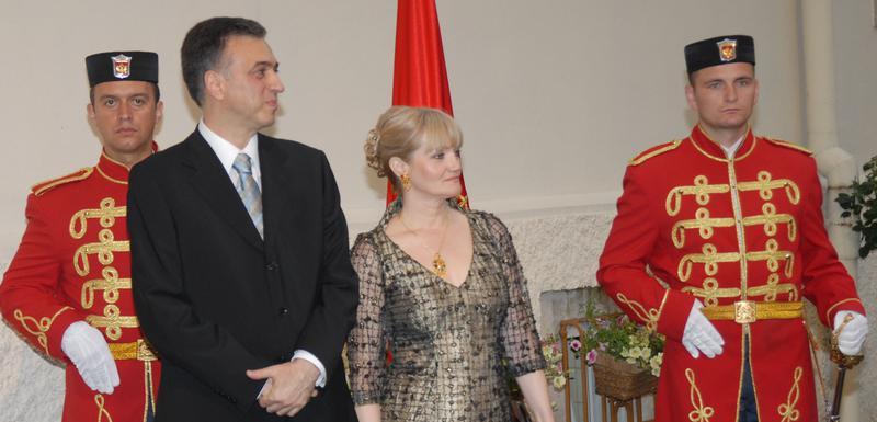 Filip i Svetlana Vujanović