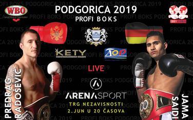 Profi boks meč Podgorica