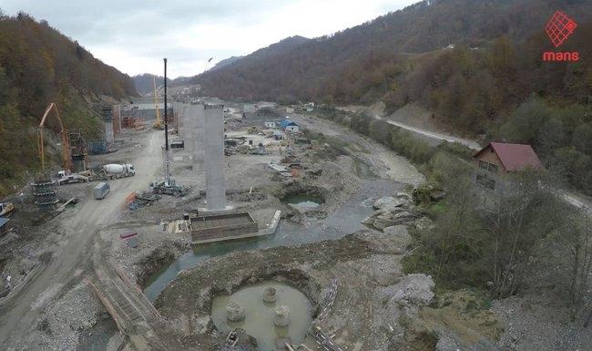 Devastacija Tare tokom gradnje auto-puta