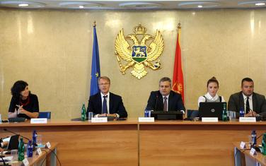 Predstavljanje godišnjeg Izvještaja o napretku: Orav na sjednici Odbora za evropske integracije u Skupštini