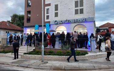 Sa otvaranja filijale Lovćen banke u Tivtu