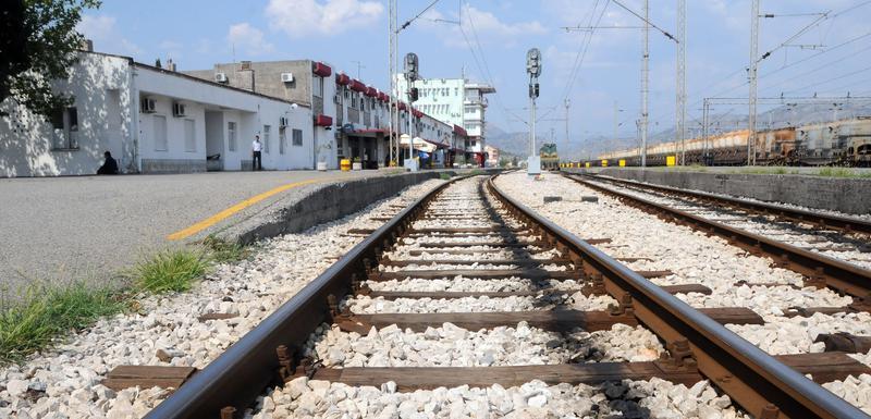 Željeznička stanica u Podgorici (arhiva)