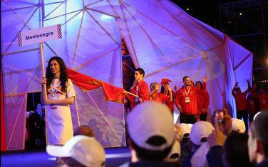 Crnogorski sportisti na otvaranju Igara malih zemalja (Foto: COK)