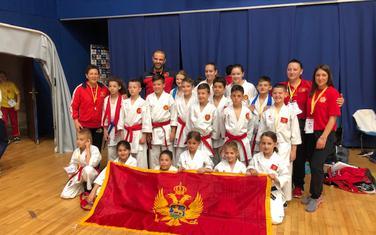 Crnogorska karate selekcija