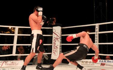 Trenutak odluke na meču Radošević - Saidi