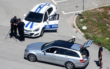 Saobraćajna policija na zadatku (ilustracija)