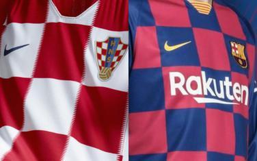 Dresovi Hrvatske i Barselone