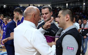 Mihailo Pavićević u raspravi sa sudijama