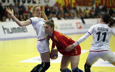 Ema Ramusović na meču sa Češkom
