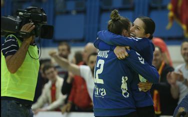 Marina Rajčić i Anastasija Babović