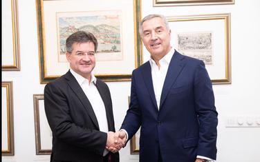 Lajčak i Đukanović