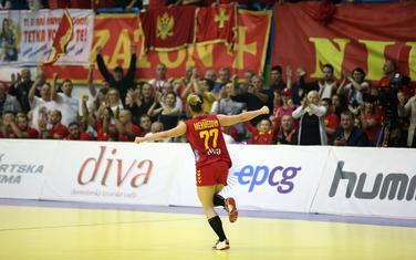 Realna, kao i uvijek: Majda Mehmedović slavi jedan od svoja dva gola u Nikšiću