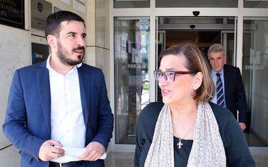 Jokić, Perović i Gošović ispred Upravnog suda