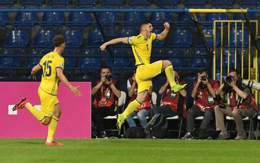 Rašica slavi gol pod Goricom